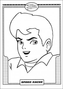 coloring page Speed racer (14)