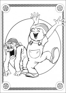 coloring page Speed racer (17)