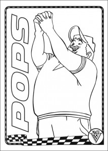 coloring page Speed racer (18)