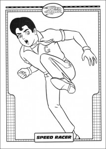 coloring page Speed ​​racer (22)