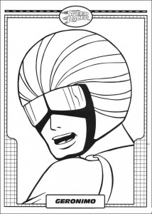 coloring page Speed racer (25)