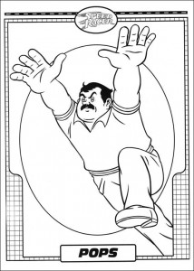 coloring page Speed racer (27)