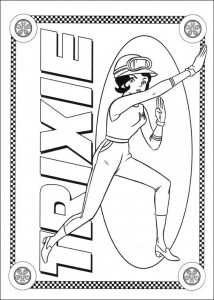 coloring page Speed racer (28)