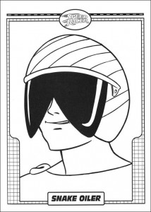 coloring page Speed racer (30)