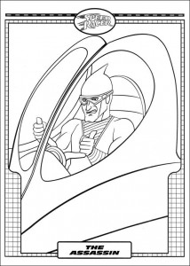 coloring page Speed ​​racer (31)