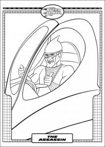 Dibujo para colorear Speed Racer (31)