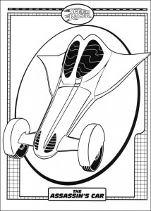 coloring page Speed ​​racer (32)