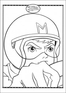 coloring page Speed racer (33)