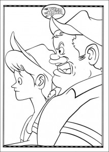 coloring page Speed racer (38)