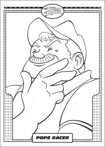 coloring page Speed racer (39)
