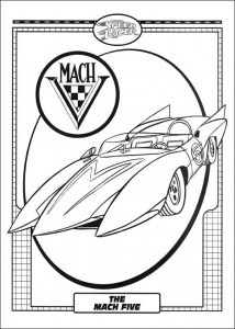coloring page Speed racer (4)