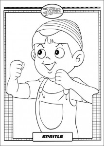 coloring page Speed ​​racer (40)