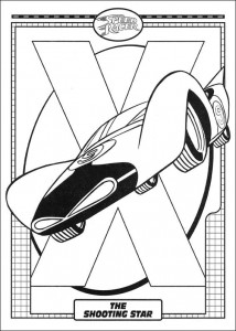 Dibujo para colorear Speed Racer (41)