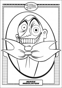 coloring page Speed racer (42)