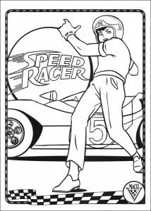 раскраска Speed racer (43)