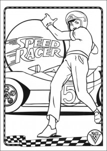 Dibujo para colorear Speed Racer (43)