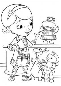 målarbok Toy Doctor (1)