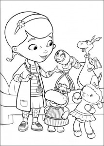 coloring page Toy Doctor (2)