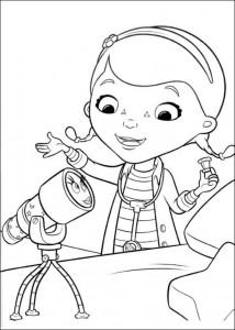 målarbok Toy Doctor (3)