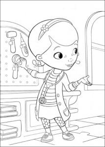 målarbok Toy Doctor (4)