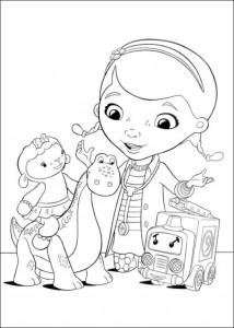 målarbok Toy Doctor (6)