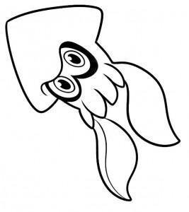 kleurplaat Splatoon (3)