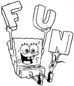 coloring page Spongebob (1)