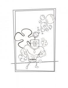 svampbob målarbok (36)