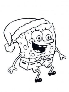 coloring page Spongebob