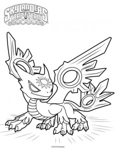 spotlight coloring page