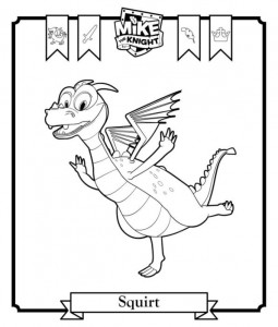 coloring page Squirt