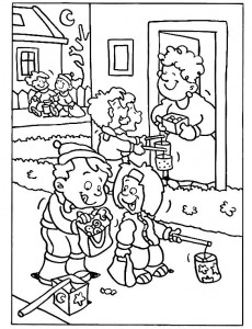 coloring page st-maarten-candy