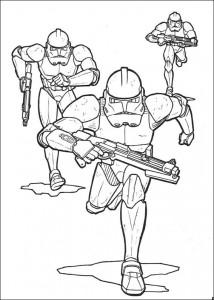 kleurplaat Star Wars (10)
