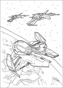 målarbok Star Wars (2)
