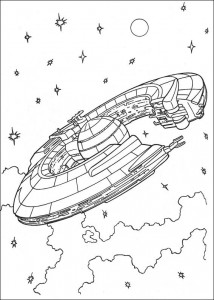 kleurplaat Star Wars (31)
