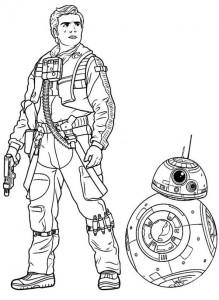 kleurplaat Star wars (49)
