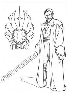 kleurplaat Star Wars (6)