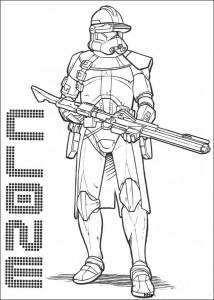 kleurplaat Star Wars (7)