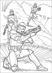 kleurplaat Star Wars (8)