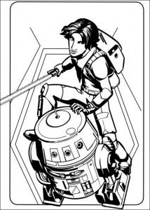 kleurplaat Star Wars Rebels (10)