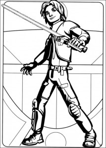 Disegno da colorare Star Wars Rebels (14)