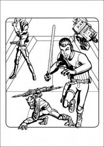 kleurplaat Star Wars Rebels (16)