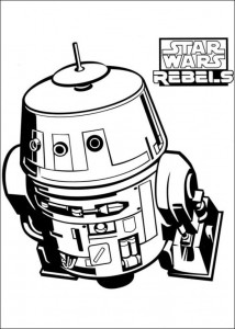 Disegno da colorare Star Wars Rebels (3)