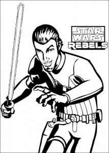 Disegno da colorare Star Wars Rebels (4)