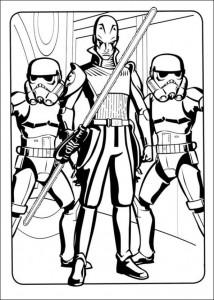 kleurplaat Star Wars Rebels (6)