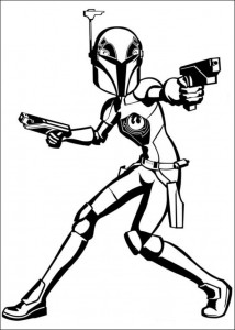 kleurplaat Star Wars Rebels (8)