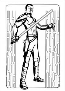 kleurplaat Star Wars Rebels (9)