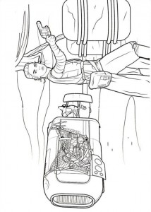 coloring page Star Wars The force awakens (6)