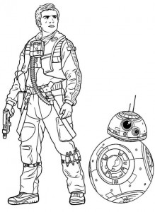 coloring page Star Wars The force awakens (8)