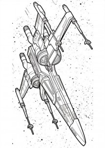 coloring page Star Wars The force awakens (9)